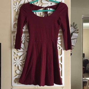 American eagle red dress